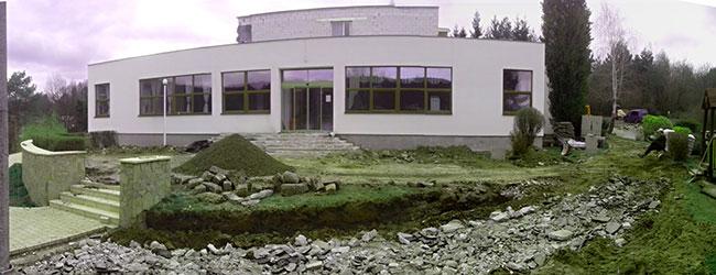 Rekonštrukcia hotela Bogárka